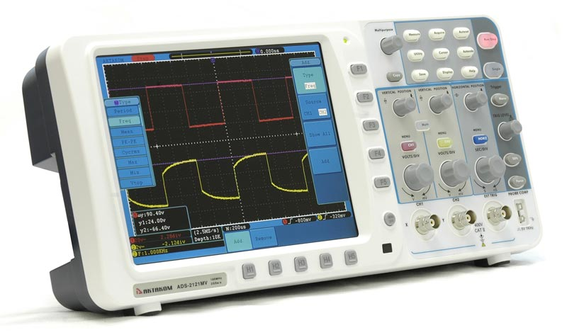 AKTAKOM ADS-2121MV Digital Storage Oscilloscope 100MHz 2GSa/s