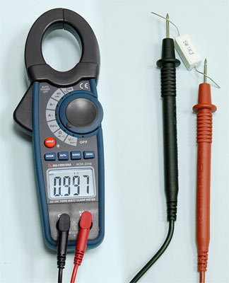 AKTAKOM ACM-2348 1000 A AC/DC Clamp & Watt Meter. True RMS & Pulse measurements - Resistance Measurement
