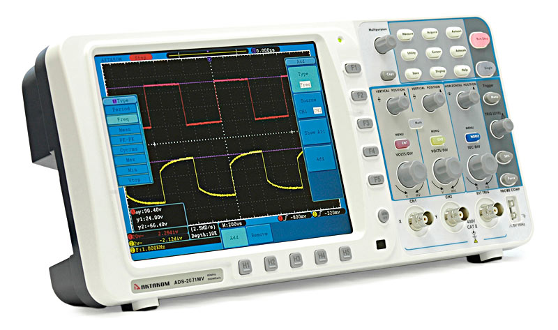 AKTAKOM ADS-2071MV Digital Storage Oscilloscope 70MHz 500MSa/s