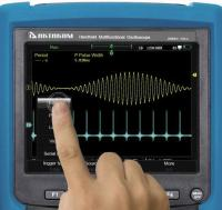 Additional pictures of new AKTAKOM ADS-4xxx series oscilloscopes on our web site