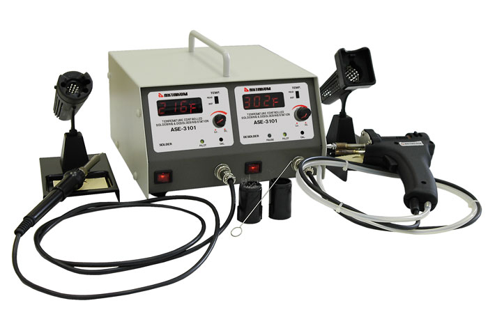 AKTAKOM ASE-3101 Multifunction Digital Soldering & Desoldering station