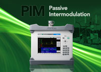 Anritsu Company Introduces Industry's First High-power, Battery-operated Portable PIM Test Analyzer