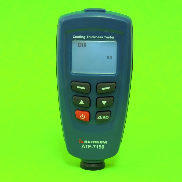 AKTAKOM ATE-7156 Coating Thickness Tester - Front