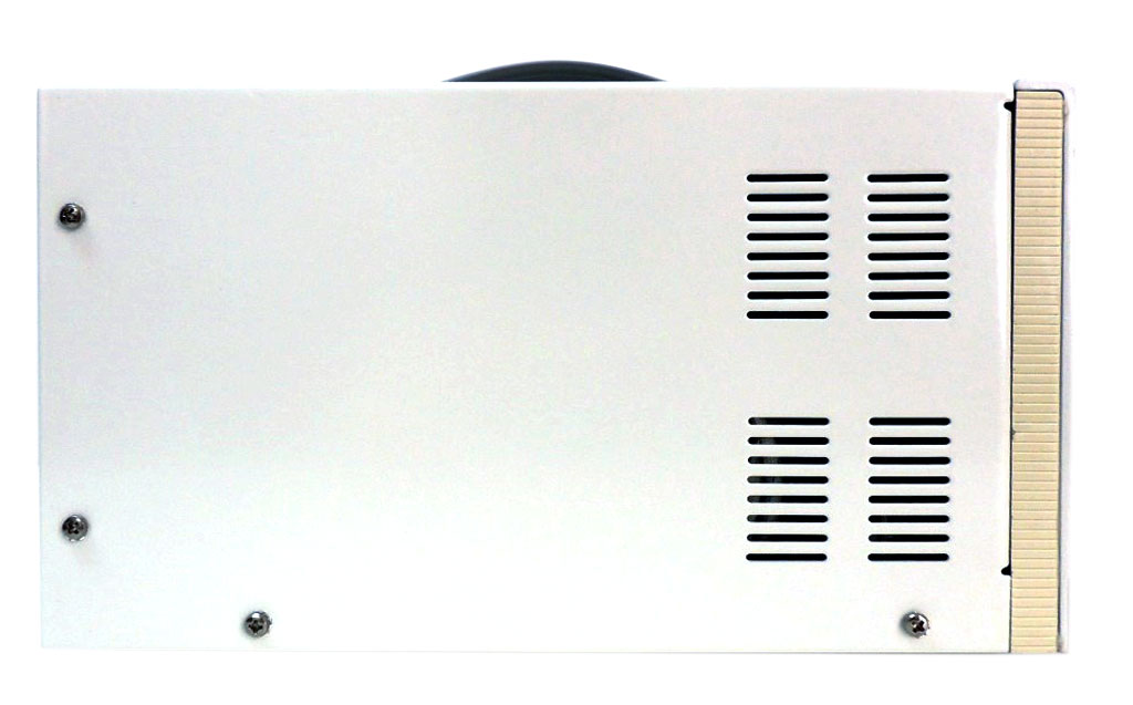 AKTAKOM APS-1915 DC Power Supply 5kV / 10mA 1 Channel - side view