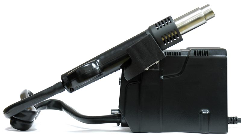AKTAKOM ASE-4509 SMD Rework Station  - side view