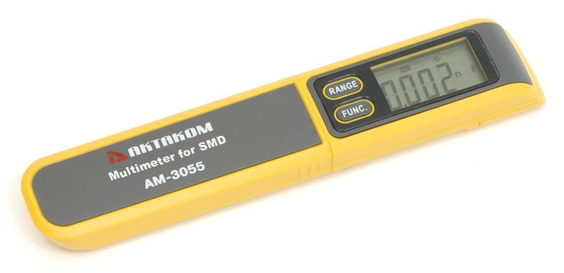 AKTAKOM AM-3055 Multimeter for SMD (Surface Mount Device) - with protective cap