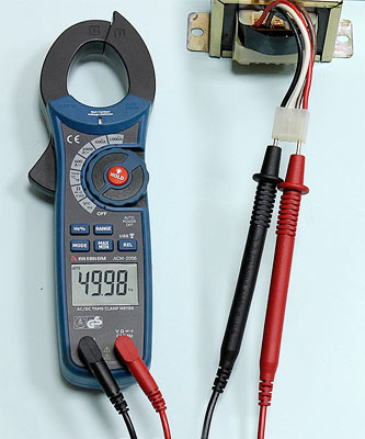 AKTAKOM ACM-2056 1000 A AC/DC Clamp Meter. True RMS + Multimeter + Wireless USB - Frequency Measurement