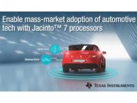 New low-power, high-performance TI Jacinto™ 7 processors enable mass-market adoption of automotive ADAS and gateway technology