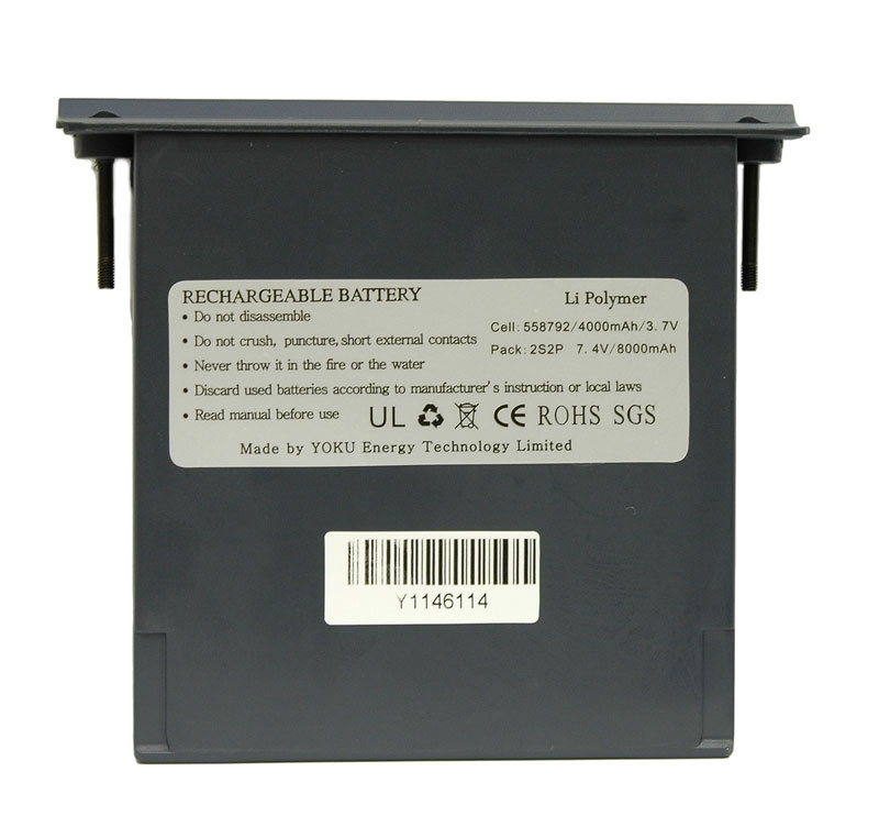 AKTAKOM Rechargeable Battery for ADS-2061, 2111, 2121, 2322 and 2332 series