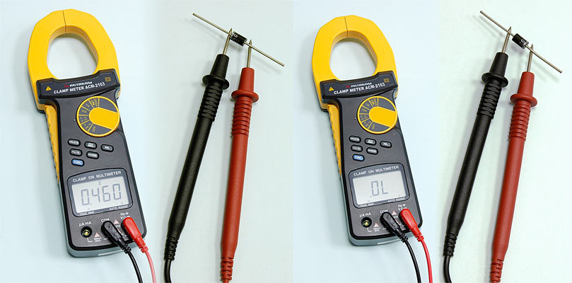 AKTAKOM ACM-2103 2000 A AC/DC Clamp Meter. True RMS + Multimeter + Direct current input (mA, µA) - Test Diode
