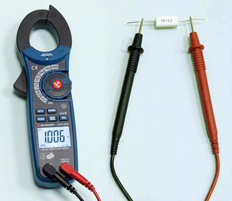AKTAKOM ACM-2056 1000 A AC/DC Clamp Meter. True RMS + Multimeter + Wireless USB - Resistance Measurement