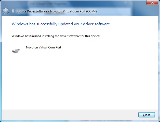 AKTAKOM APS-7315_SDK Software Development Kit - Installing driver software - step 6