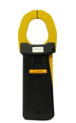 AKTAKOM ACM-2103 2000 A AC/DC Clamp Meter. True RMS + Multimeter + Direct current input (mA, µA) - Rear view