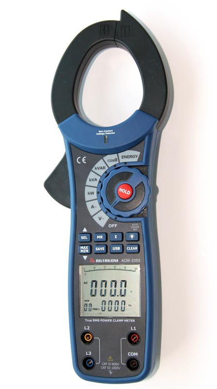 Create Your Own Package - You can choose ACM-2353 Professional True RMS 1000A AC Watt Clamp Meter