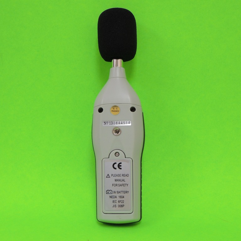AKTAKOM ATE-9015 Sound Level Meter - rear view