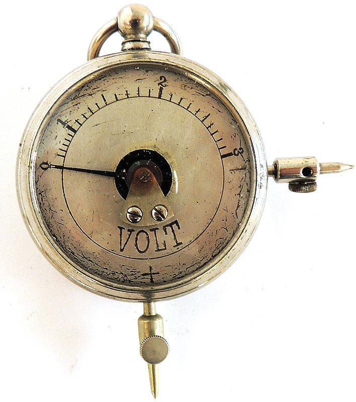 Antique Volt Meter : Antique scale volt meter t m atlantic