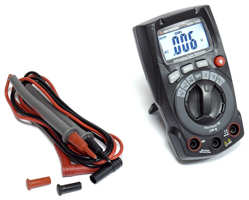 AKTAKOM AMM-1042 Digital Multimeter - Accessories