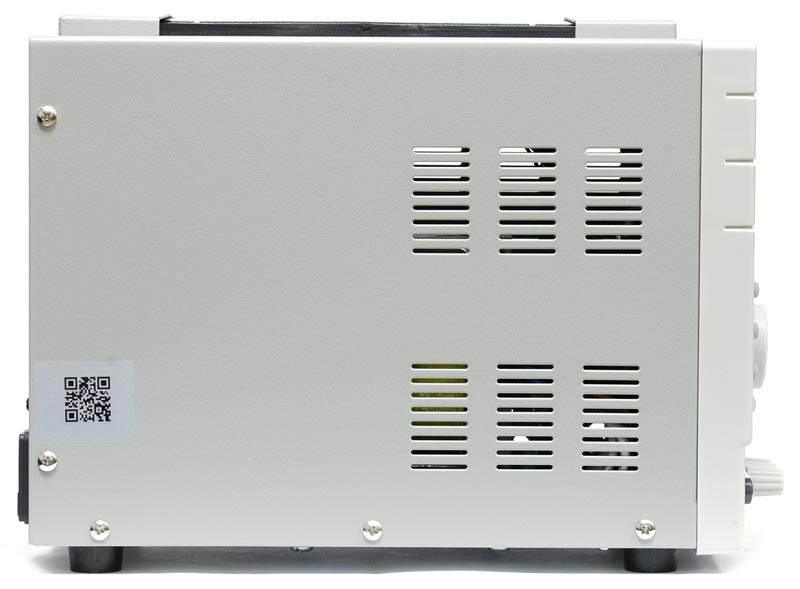 AKTAKOM APS-7306 DC Programmable Power Supply - side view