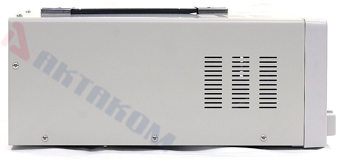 AKTAKOM APS-3610 DC Power Supply 60 V / 10 A, 1 Channel - Side view