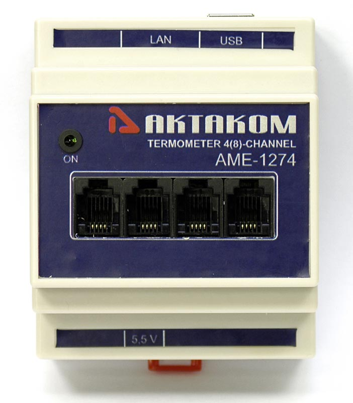 AKTAKOM AME-1274 Multichannel Thermometer