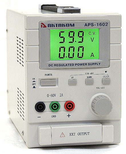 AKTAKOM APS-1602 DC Power Supply 60V / 2A 1 Channel
