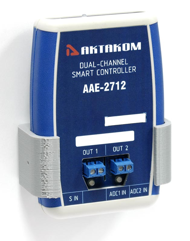 AKTAKOM AAE-2712 Dual-Channel Smart Controller - with wall mount holder