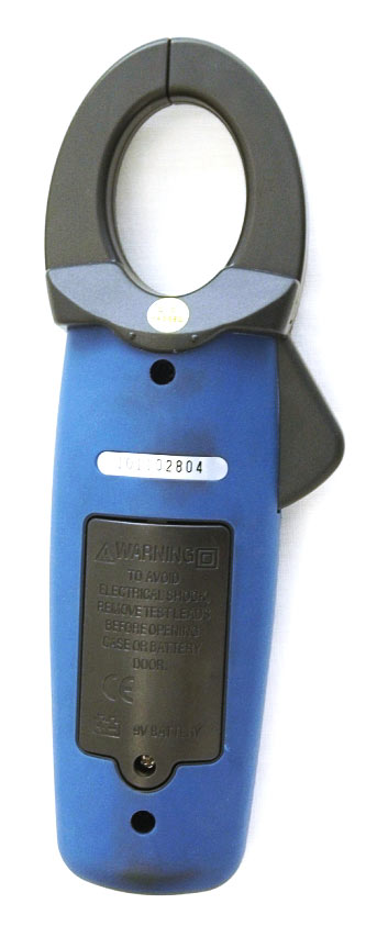 AKTAKOM ACM-2368 1000 A AC/DC Clamp Meter. True RMS + Inrush + Pulse and Temperature measurements - backside view