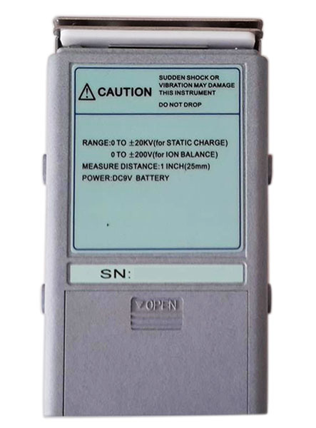 AKTAKOM AMM-2043 Electrostatic Field Meter - back view