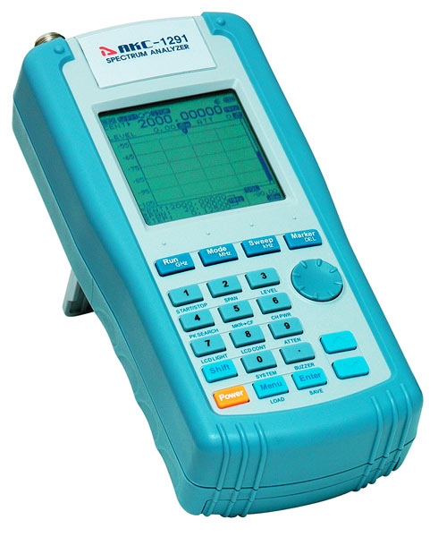 AKTAKOM ASA-1291 Handheld Spectrum Analyzer