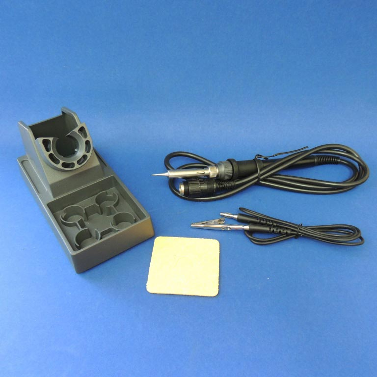 AKTAKOM ASE-1107 ESD-safe Temperature Controlled Digital Soldering Station - accessories