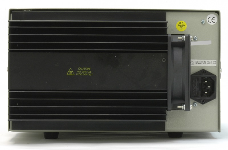AKTAKOM ATH-1338 DC Power Supply 30V / 20A; 1 channel - Rear view