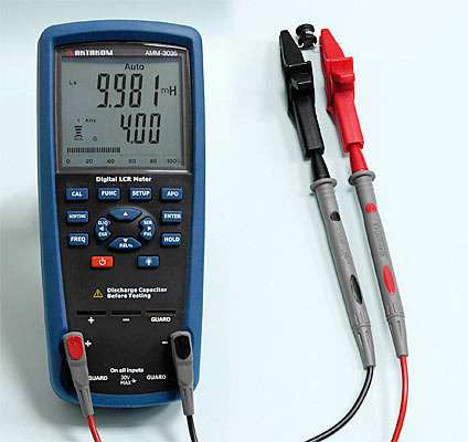 AKTAKOM AMM-3035 LCR Meter - Inductance Measurement