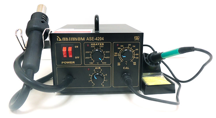 AKTAKOM ASE-4204 ESD-Safe Temperature Controlled Multifunctional Rework Station