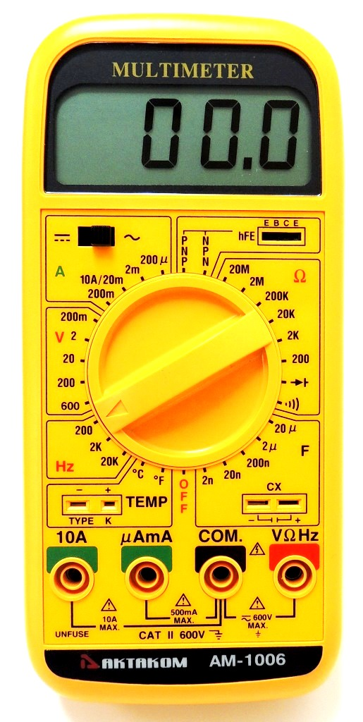 AKTAKOM AM-1006 Multi-Function Multimeter - front view