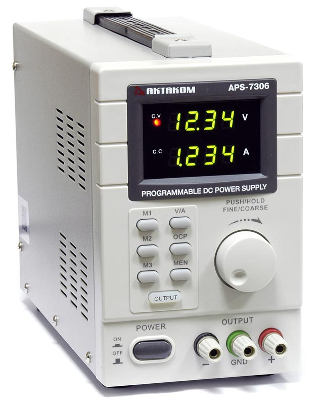 AKTAKOM APS-7306 DC Programmable Power Supply