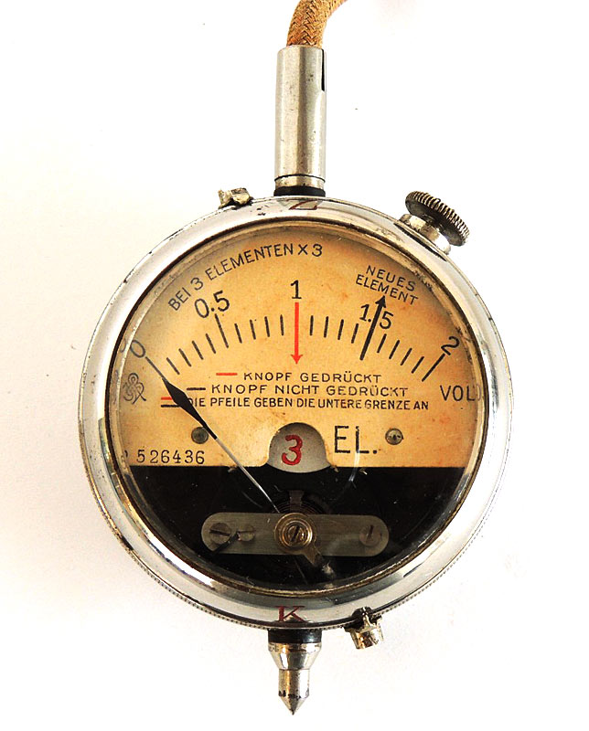Antique 1916 Volt Meter: Works, Excellent Condition,  as Seen on TV Pawn Stars