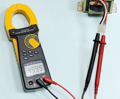 AKTAKOM ACM-2103 2000 A AC/DC Clamp Meter. True RMS + Multimeter + Direct current input (mA, µA) - Frequency Measurement