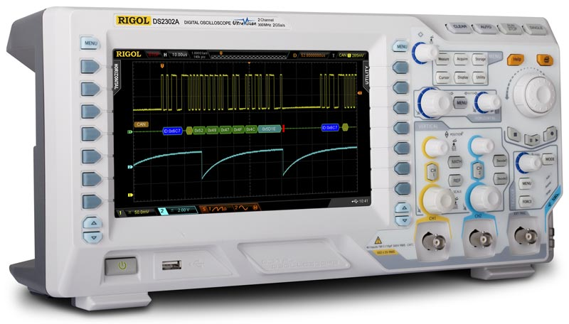 RIGOL DS2072A 70 MHz Digital Oscilloscope