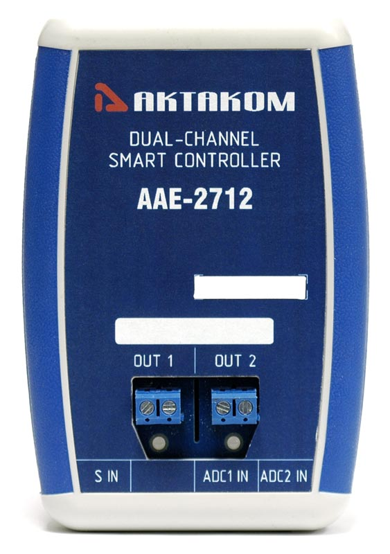 AKTAKOM AAE-2712 Dual-Channel Smart Controller - front view