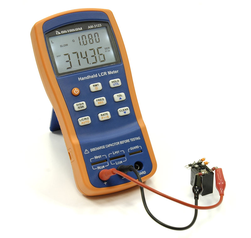 AKTAKOM AM-3123 LCR Meter - Inductance Measurement