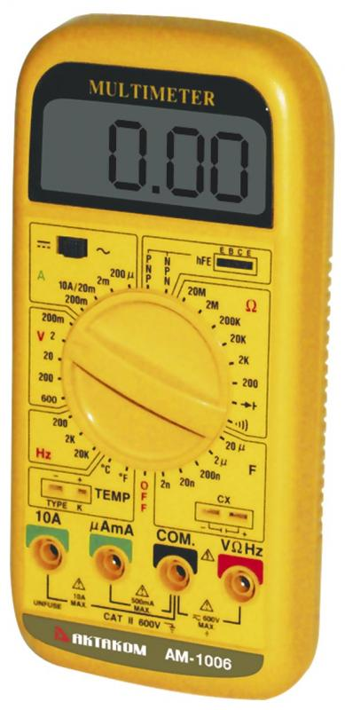 AKTAKOM AM-1006 Multi-Function Multimeter