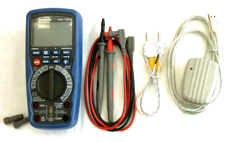 AKTAKOM AMM-1139 Professional Industrial Precision Digital Multimeter - Accessories