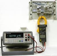 The use of AKTAKOM ATK-2250 clamp meter with an oscilloscope or external multimeter