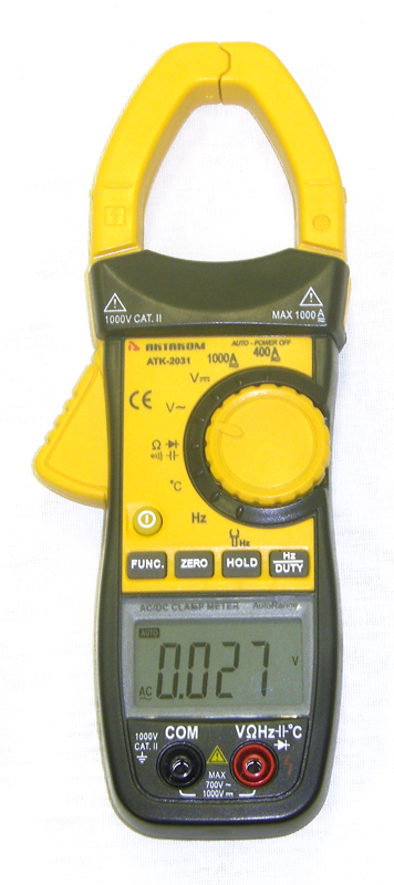 AKTAKOM ACM-2031 1000 A AC/DC Multipurpose Clamp Meter & Multimeter - front view