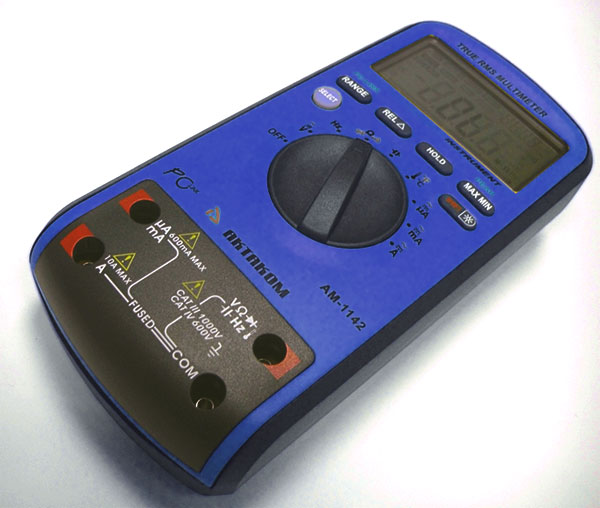 AKTAKOM AM-1142 Digital Multimeter - measuring terminals