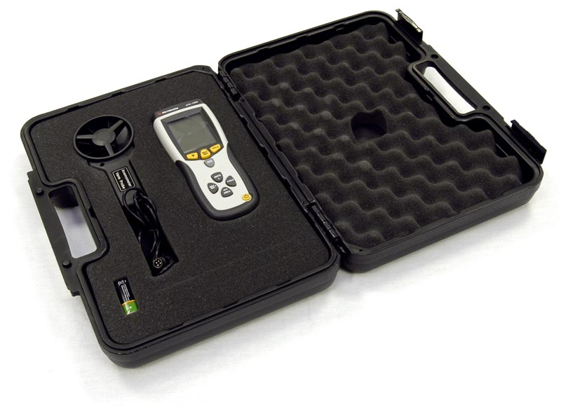 AKTAKOM ATE-1093 Thermo-Anemometer - in case