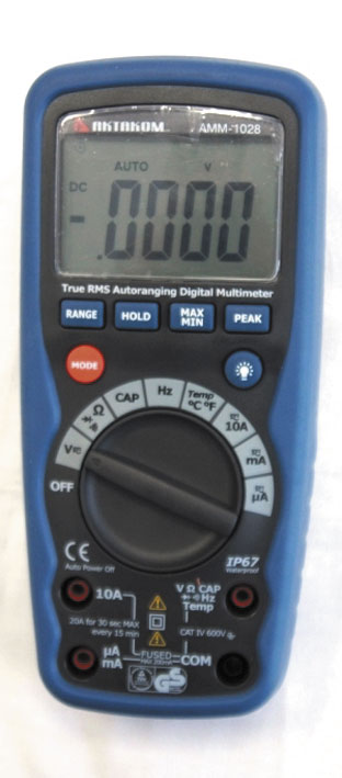 AKTAKOM AMM-1028 Professional Industrial Digital Multimeter