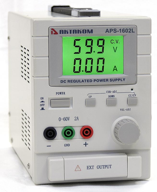 AKTAKOM APS-1602LS DC Power Supply 60V / 2A 1 Channel