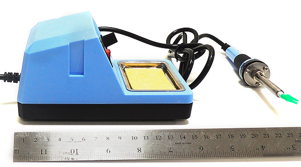 AKTAKOM ASE-1112 Temperature Controlled Soldering Station - Side view
