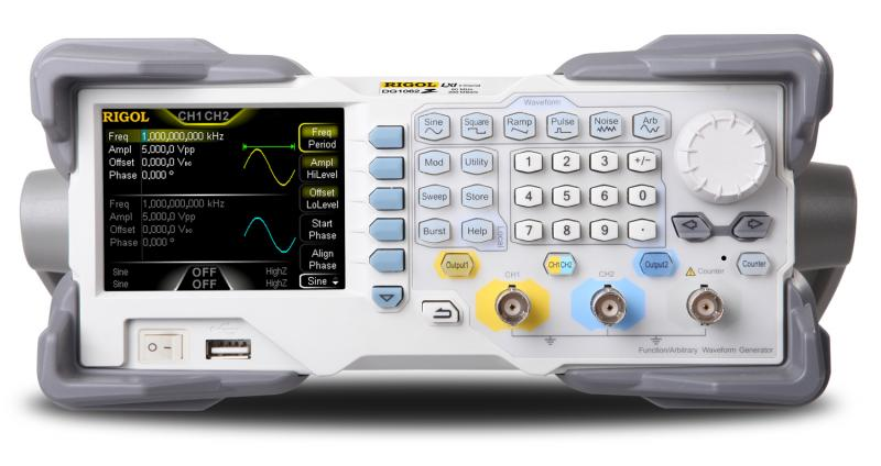 RIGOL DG1032Z Function / Arbitrary Waveform Generator - Front view